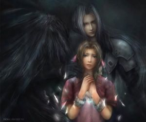 Aeris and a Shadow
