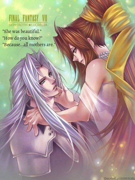 Sephiroth and Lucretia