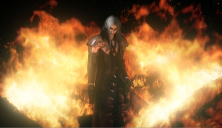 Sephiroth in the Flames 3