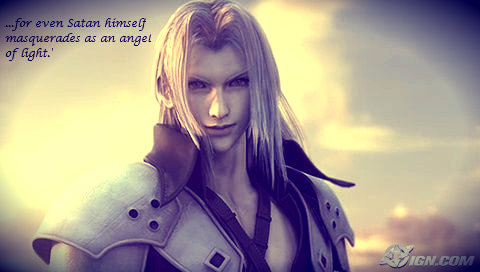 Sephiroth Angel of Light 2