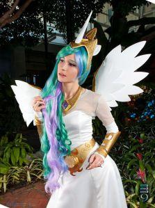 Princess Celestia Cosplay 5