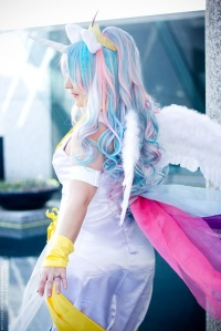 Princess Celestia Cosplay 6