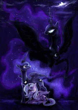 Princess Luna or Nightmare Moon