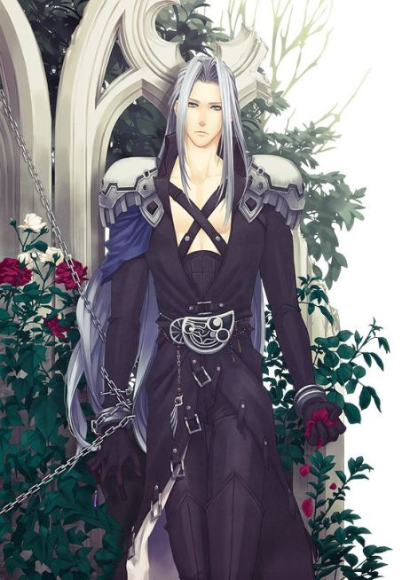 Sephiroth Chained in the Garden