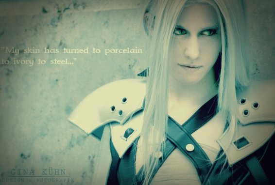 Sephiroth - Porcelain, Ivory, and Steel