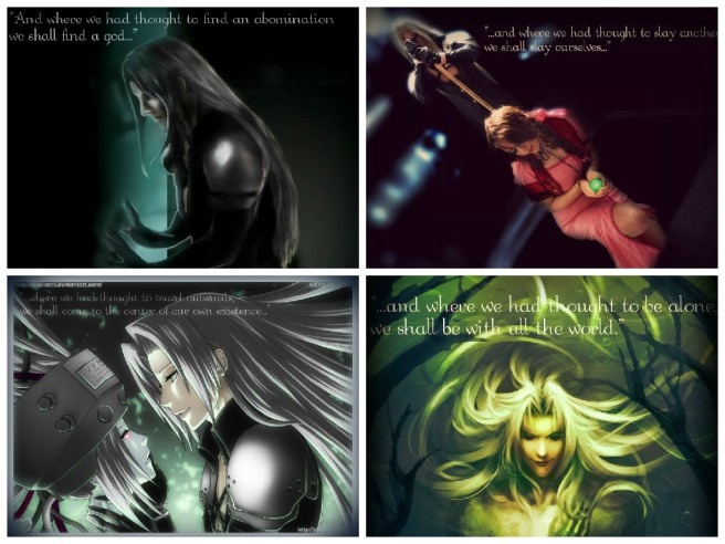 Sephiroth - The Hero's Path Distorted
