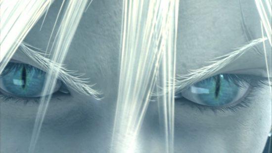 Sephiroth's Cat Eyes