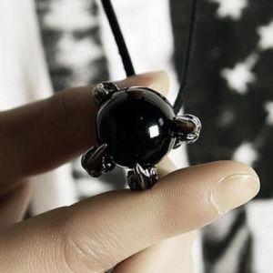 Black Orb Necklace