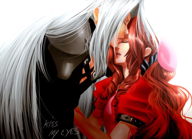 Kiss My Eyes by Deviant Artist uekiOdiny