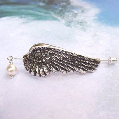 Angel Wing Pin