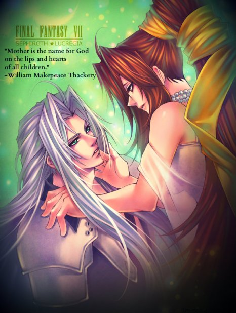 "Original Picture ""Sephiroth and Lucrecia...2 by ranman-roman"