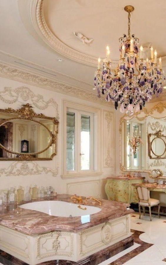 Ornate Bathroom
