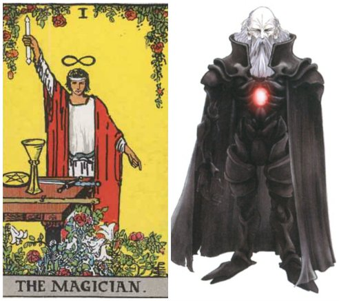 The Magician & Garland
