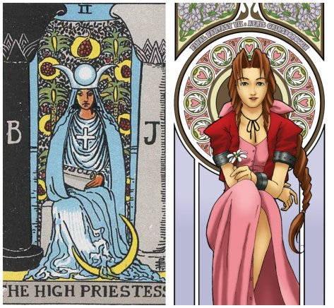 The High Priestess & Aeris