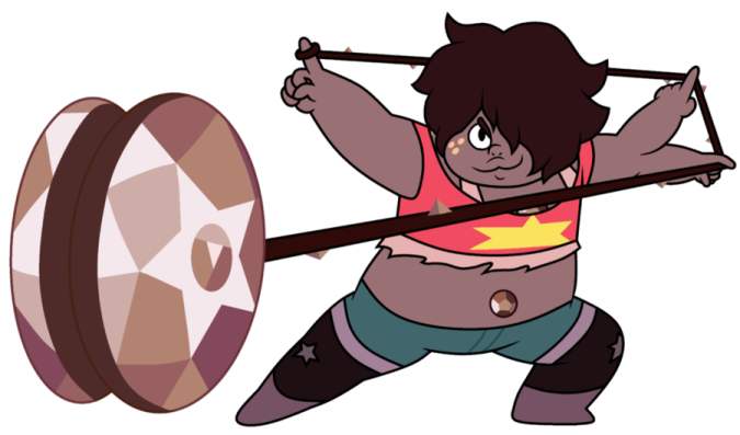 The new steven universe Fusion- Smokey Quartz by Sismoonlight