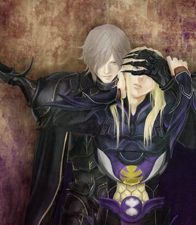 Golbez and Kain