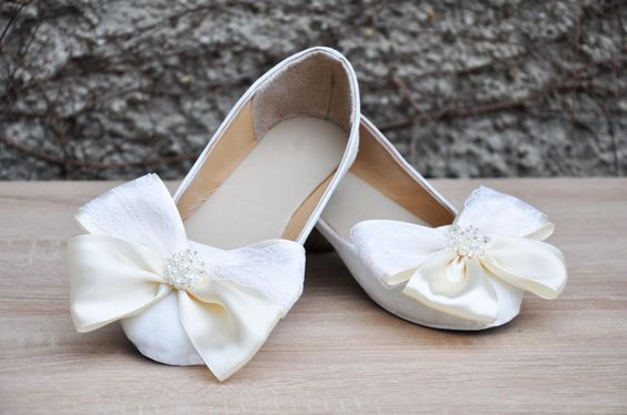 white-ribbon-shoes